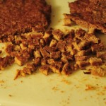 Dehydrated Turkey Treat Recipe - Chop into Finger Nail Size Peices