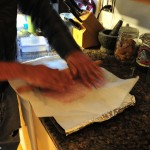 Dehydrated Turkey Treat Recipe - Use Rolling Pin to Roll Out