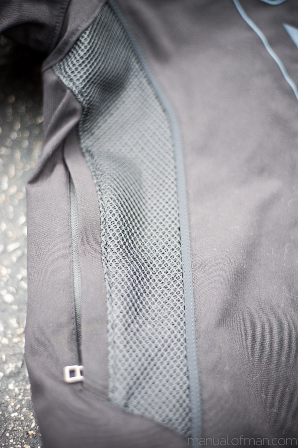 Dainese Super Speed Textile Jacket - Side Mesh Panel