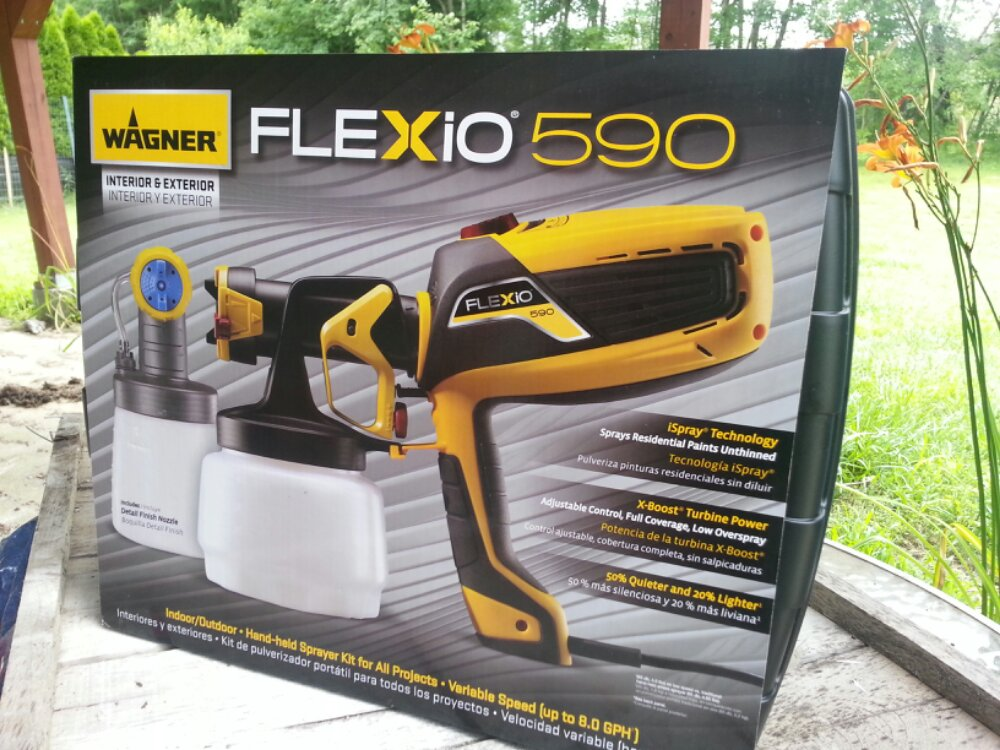 Wagner Flexio 590 Sprayer - Box