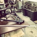 Project Honda CB450 Cafe Racer: Neck and Balls